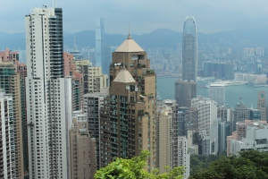 View from the Peak, Hong Kong (C. Louise Ralph)