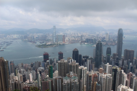 The Peak - Hong Kong (Copyright: Louise Ralph)