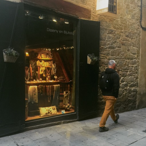Streets of Barcelona's gothic quarter