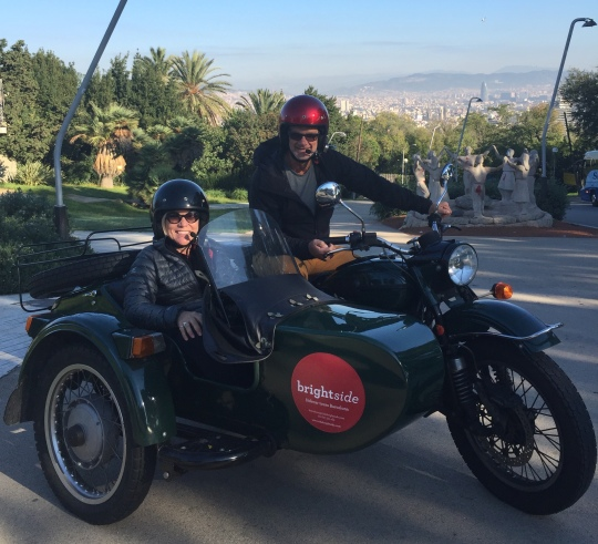 Brightside Sidecar Tour of Barcelona