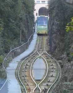 Funicular at Monserrat