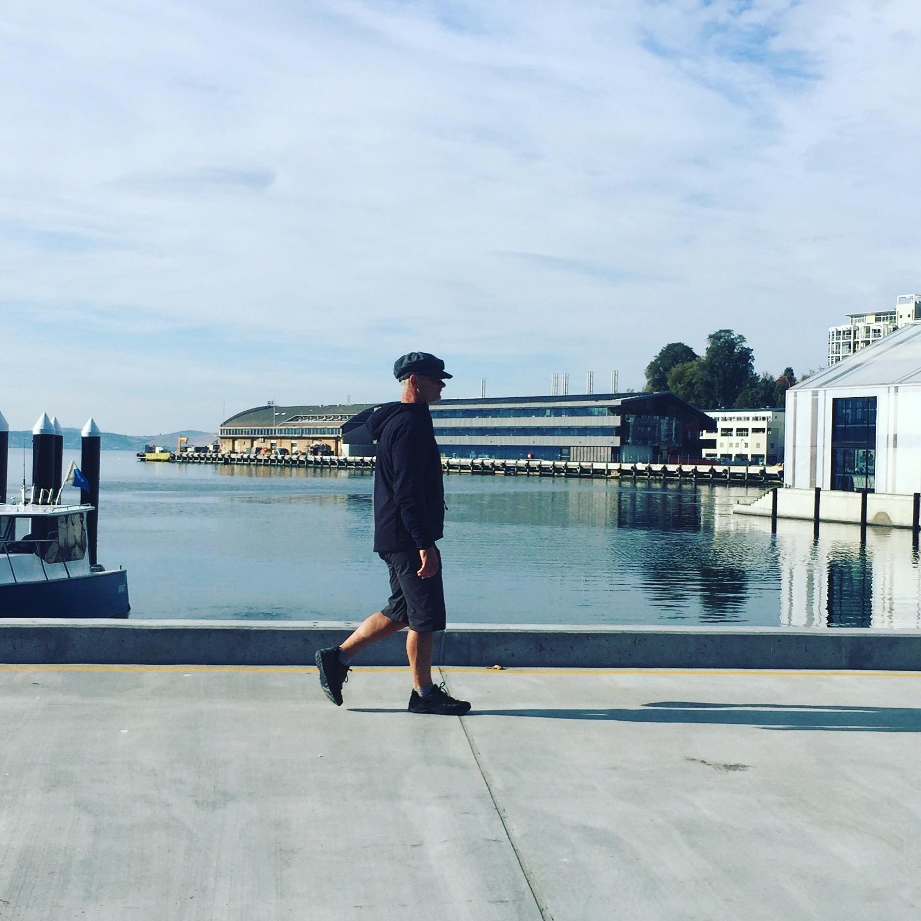 Hobart docks Tasmania © Louise Creely